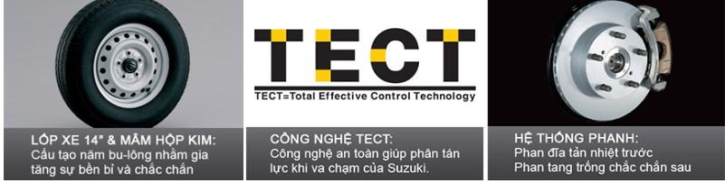 Hệ thống an toàn bậc nhất của Suzuki Carry pro