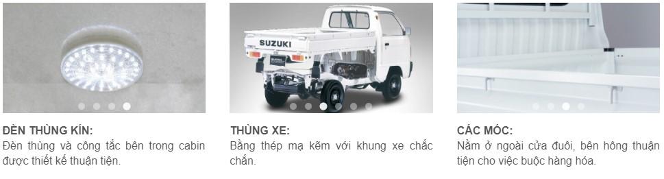 Kết cấu xe Super Carry Truck