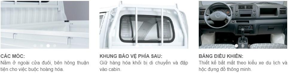 Nội ngoại thất xe tải Super carry pro
