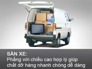 Ngoại thất của super carry blind van