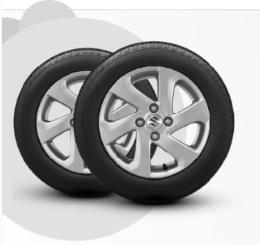 suzuki-celerio bánh xe và lốp