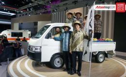 Xe tải hạng nhẹ Suzuki Carry 2019 ra mắt với động cơ giống Ertiga và trọng tải tăng lên 1 tấn
